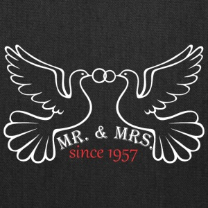 Mr And Mrs Since 1957 Married Marriage Engagement - Tote Bag