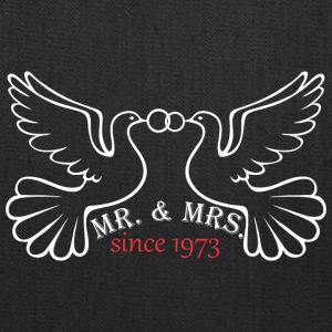 Mr And Mrs Since 1973 Married Marriage Engagement - Tote Bag