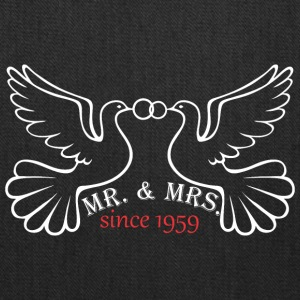 Mr And Mrs Since 1959 Married Marriage Engagement - Tote Bag