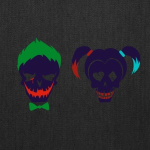 Harley quinn and Joker from suicide squad - Tote Bag