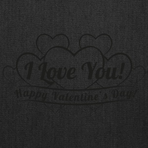 vintage-heart-Happy-Valentines Day-i love you - Tote Bag