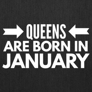 Queens Born January - Tote Bag