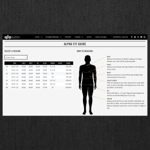 alpha fit guide - Tote Bag