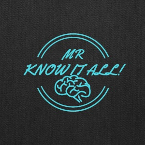 MR KNOWITALL - Tote Bag