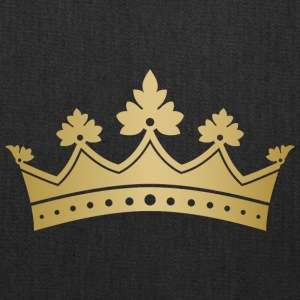 Royal golden crown monarch VIP vector art - Tote Bag
