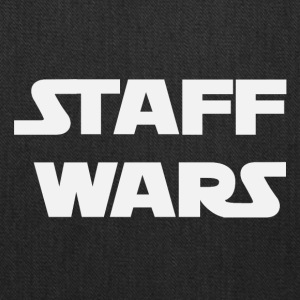 Staff Wars (2181) - Tote Bag
