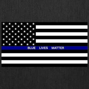 BLUE LIVES MATTER Flag - Tote Bag