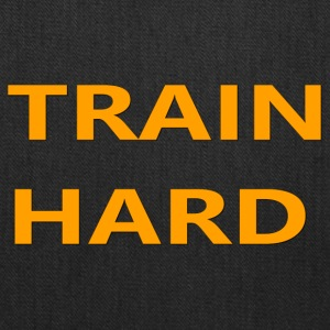 TRAIN HARD ORANGE - Tote Bag