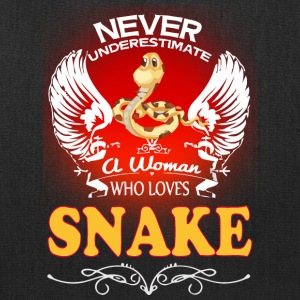 A Woman Who Love Snake - Tote Bag