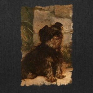 Yorkshire terrier, vintage illustration - Tote Bag