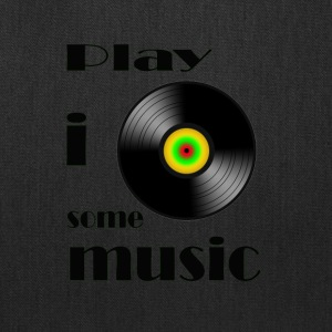 play i some music - Tote Bag