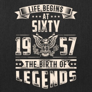 Life Begins At Sixty The Birth Of Legends tshirt - Tote Bag
