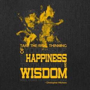Happiness and Wisdom - Tote Bag