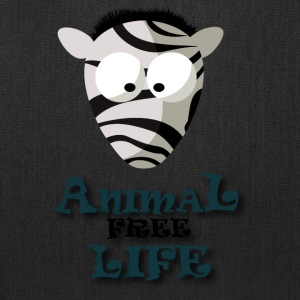T SHIRT ANIMAL FREE LIFE2 - Tote Bag