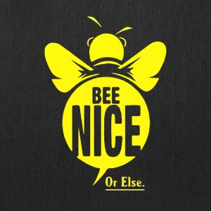 bee nice - Tote Bag