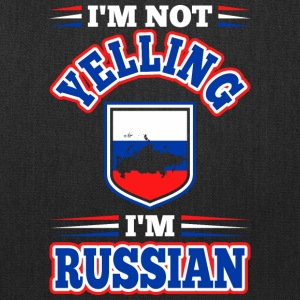 Im Not Yelling Im Russian - Tote Bag