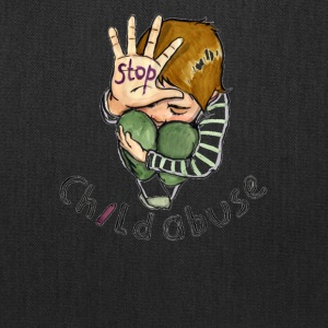 Stop child abuse - Tote Bag