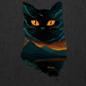 black cat T Shirt - Tote Bag
