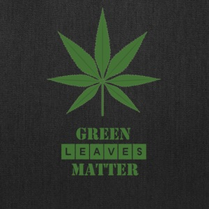 Green Leaves Matter graphic t-shirts and more - Tote Bag