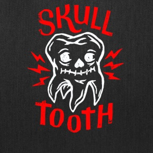 Skull Tooth - Tote Bag