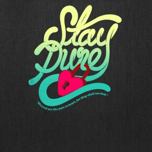 Stay pure blased are the pure - Tote Bag