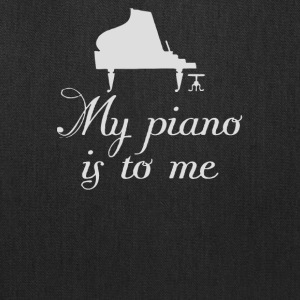 My Piano is to me - Tote Bag