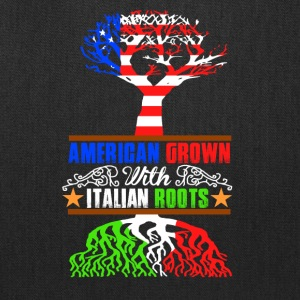 American grown with italian roots - Tote Bag