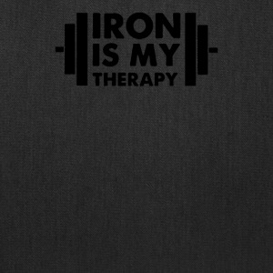 Iron is My Therapy - Tote Bag