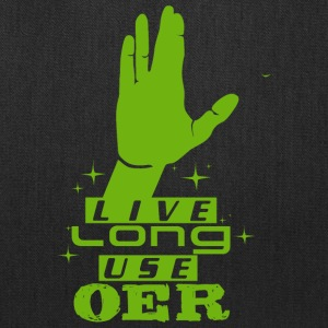 Live Long Use OER (Green) - Tote Bag