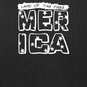 Land of the free merica - Tote Bag