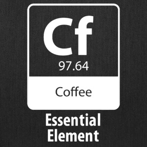 Coffee Essential Element - Tote Bag
