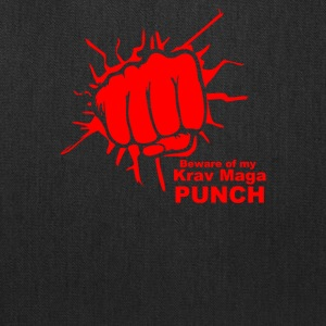 Beware Of My Krav Maga Punch - Tote Bag