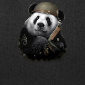 Panda Soldier - Tote Bag