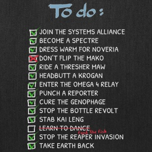 Commander 039 s To Do List - Tote Bag