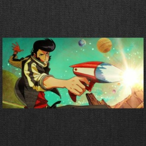 Space Dandy Shooting His Gun - Tote Bag