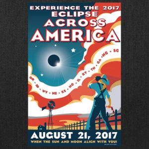 Official 2017 Eclipse Across America Gear - Tote Bag