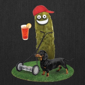 Lawn Mower Pickle - Tote Bag