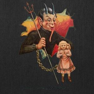 Krampus Breaks Through - Tote Bag