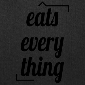 Eats everything - Tote Bag
