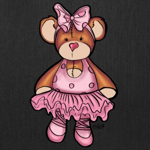 Beary Cute Ballerina - Tote Bag