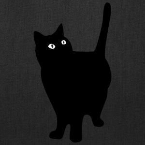 black_fat_cat - Tote Bag