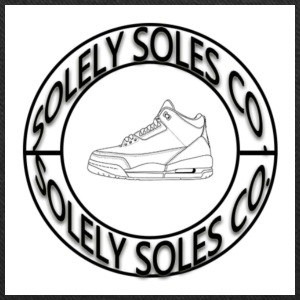 Solely Soles Circle Logo - Tote Bag