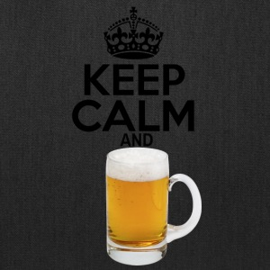 Keep Calm and Beer - Tote Bag
