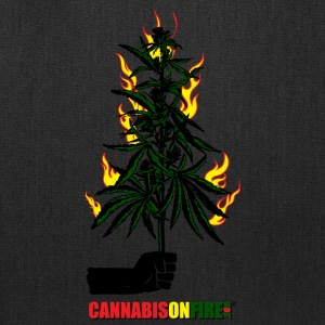 Cannabis On Fire T-shirts - Tote Bag