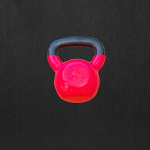 red kettlebell - Tote Bag