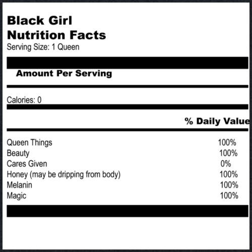 Black girl magic TEE - Tote Bag
