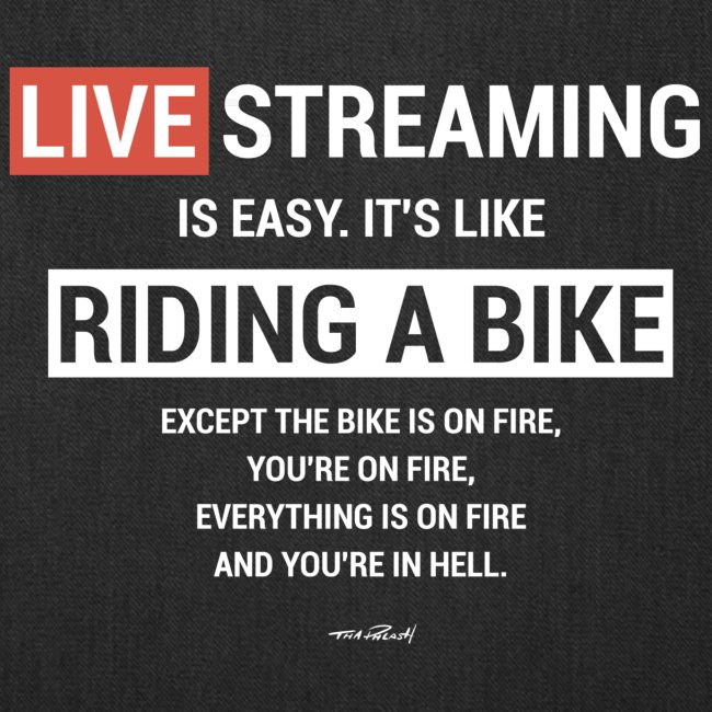 Live Streaming is easy