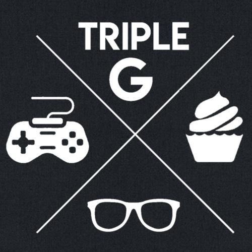Triple G Crest - White Design - Tote Bag