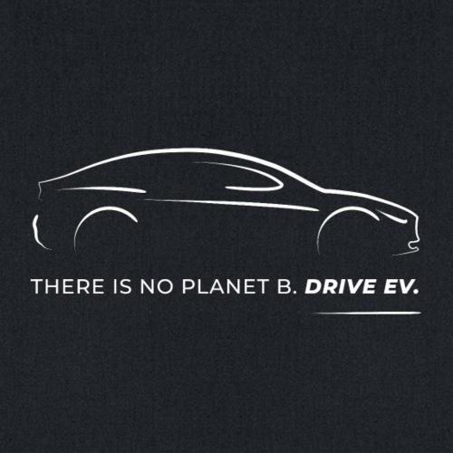 Drive an EV (white) - Tote Bag