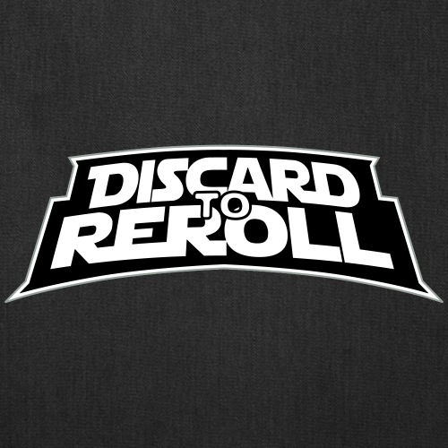 Discard to Reroll: Logo Only - Tote Bag